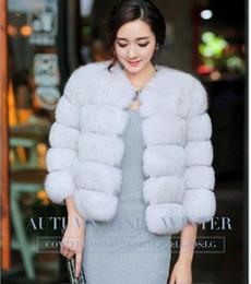 Discount Womens Blue Fur Coats   2016 Womens Blue Fur Collar Coats ...