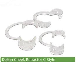 Wholesale 600pcs Speak Out Game C Type Autoclavable Dental Mouth Opener Teeth Whitening Cheek Retractors Game Lip Retractors Dentistry