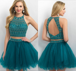 Discount Teal Homecoming Dresses | 2017 Short Teal Homecoming ...