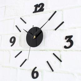 Modern Minimalist Digital Wall Clock