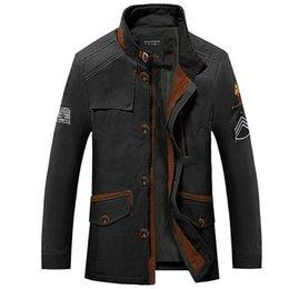 Wholesale Mens Military Styled Army Green Plus SIze XL XL XL XXXL Jacket Brand New Men Outdoors Formal Coat