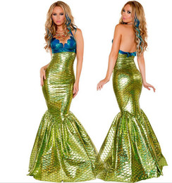 Discount Mermaid Dress Up Costume  2017 Mermaid Dress Up Costume ...