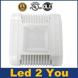 UL DLC Approvato Led Canopy luci 60W 100W 130W 150W ha condotto i proiettori esterna impermeabile luci di inondazione principale AC 100-277V