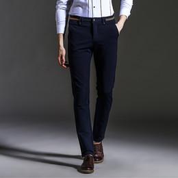 Discount Mens Casual Slim Dress Pants | 2017 Mens Casual Slim ...