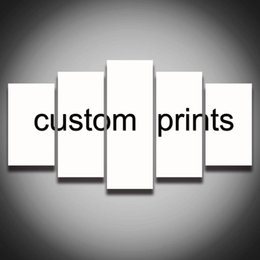 5 panels custom prints canvas painting wall art living room home decor canvas print poster framed supplier only for wholesale