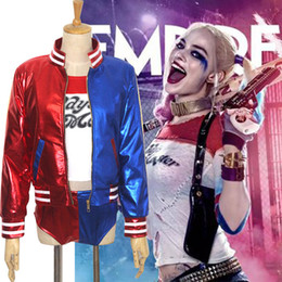 Wholesale Smart Cosplay Costumes Hot Sale Suicide Squad Harley Quinn Cosplay Costumes Anime Halloween Jacket Suits