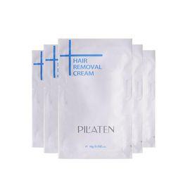 Novo arival PILATEN Creme Depilatório Creme Depilatório Indolor Para Perna / Axila / Corpo 10g Creme Depilatório