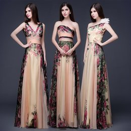 Wholesale Sexy Backless Maxi Dress Spaghetti Straps V Neck Lace up Back Prom Dresses Chiffon Evening Dress long Party Formal Gowns In Stock