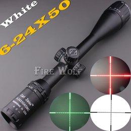 2017 Новый Carl Zeiss 6-24x50 белыми отметинами зеленый и красный Illuminated Riflescopes прицел Охота Область применения