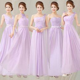 Wholesale 2016 Cheap Bridesmaid Dresses Under Light Purple Bridesmaid Dress Dreamlike Dress For Wedding Party Long Greek Goddess Dress