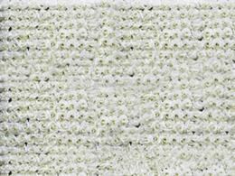 Free Shipping 40 60cm 10pcs Lot Artificial Silk Ivory Crimping Rose Flower Wall Wedding Background Lawn Pillar Flower Home Market Deco