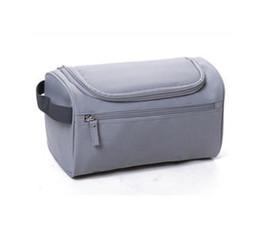 Impermeável homens cosméticos saco pendurado saco de maquiagem nylon organizador de viagens para as mulheres grandes necessidades compõem caso de lavagem de higiene pessoal