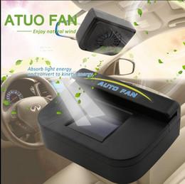 48pcs / серия DHL 2016 Новые бесплатные Продажа Авто вентилятора Прохладный солнечной энергии автомобиля Auto Air Vent холодный вентилятор Cooler Система вентиляции Радиатор