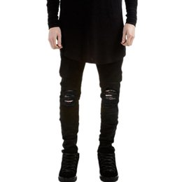 Black Ripped Skinny Jeans Male Online | Black Ripped Skinny Jeans ...