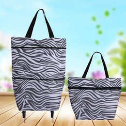 Wholesale Multi Function Roller Bag Large Shopping Bags Buy Food Car Light Carry Save Space Color Options