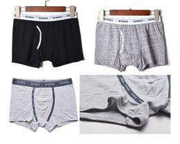Wholesale Primary school boy boxer black gray kids panties choose five sizes age suitable six to sixteen years