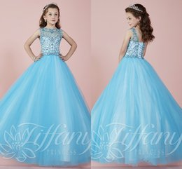 Discount Sky Blue Dresses For Kids | 2017 Sky Blue Dresses For ...