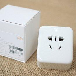 NUEVA original Xiaomi inteligente del enchufe del zócalo Bacic WiFi inalámbrico acepta remoto de EE.UU. Reino Unido de la UE UA Adaptador Socket