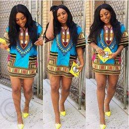 Dashiki robes africaines Pour Unisexe africaine Vêtements Hippie Shirt Caftan VintageTribal mexicaine Top Bazin Riche Vêtements ethnique 20pcs CCA4570