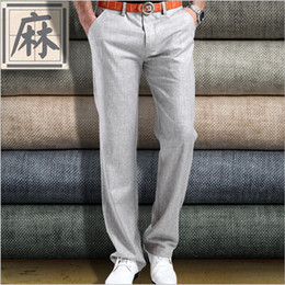 Discount Mens Linen Pants Sale | 2017 Mens Linen Pants Sale on ...