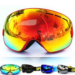 discount ski goggles mnt9  Discount ski goggles anti fog glasses Women Men Brand Ski Goggles Glasses  Anti-fog Anti