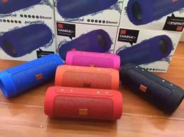 Livraison gratuite Nice Sound Charge 2+ Bluetooth Haut-parleur extérieur appel téléphonique Haut-parleurs Mini Haut-parleurs étanches peuvent être utilisés comme Power Bank