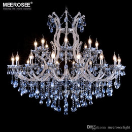 Magnificent Chandelier Online Shopping 25 best ideas about modern crystal chandeliers on pinterest crystal chandeliers chandeliers and modern chandelier lighting Blue Color Maria Theresa Crystal Chandelier Lamp Light Lighting Fixture Large White Chandelier Lusters D1200mm H1000mm