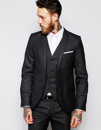 Discount Mens Dark Brown Suit | 2017 Dark Brown Mens Wedding Suit