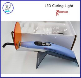 Wholesale Brand New Dental Wireless Cordless Woodpecker Style LED D Curing Light Lamp FDA CE Approved