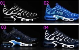 Discount Shoes Run Air Max 2016 TN Running Shoes Mens Max TN Shoes Men Air Maxes TN Runs Shoes Lace Sneakers Trainers Size 40-47