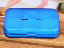 Wholesale Pill cases Cells Mini Pill Storage Box Plastic Cases for Medicine Jewelry Organizers Medication pill box Cells Pill Box