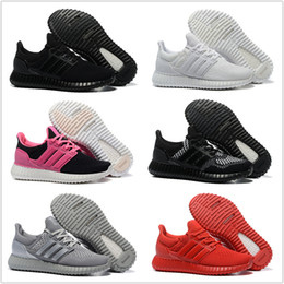 Wholesale Adidas Originals Yeezy Ultra Boost Running Shoes Men Women Cheap New High Quality Sneakers For Sale Free Drop Shipping Size