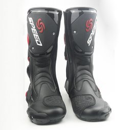 Discount Motorcycle Race Boots | 2017 Motorcycle Road Race Boots ...