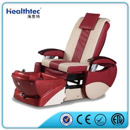 moveable armrest shiatsu massage pipless jet fiberglass basin manicure and pedicure spa chair for nail beauty salon equipment - Massage Chairs For Sale