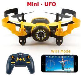 JXD 512W JXD512W 2.4Ghz WiFi FPV Mini UFO One-Key-retour Headless mode RC Quadcopter avec 0.3MP caméra HD RTF