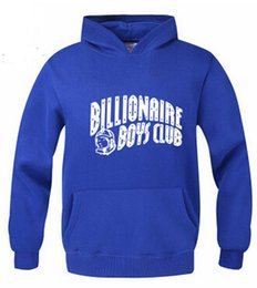 Wholesale Autumn Winter Brand Skateboard BILLIONAIRE BOYS CLUB Hoodies Men Fashion Sweatshirt Sport Suit Fleece Pullover Men