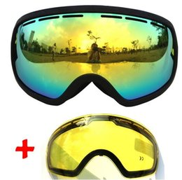 discount ski goggles mnt9  Discount ski goggles night lens 2016 brand ski goggles cloudy with double  lens goggles fog big