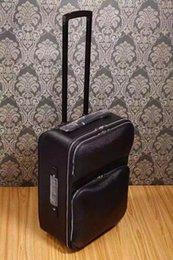 lujo clásico de cuero verdadera caja de equipaje Maleta piel de vaca equipaje de traje de equipaje para wen y mujeres AAAA grado 1: 1