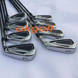 Discount headlight golf 2016 new headlights Golf Club Irons 2716 forged irons set steel shaft X6.0 high quality golf clubs