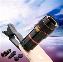 Discount magnetic phone lens Univeral phone lens 8x Zoom Telescope Telephoto Camera Lens for Samsung S6 Note 5 iphone 6 7 Plus magnetic lens
