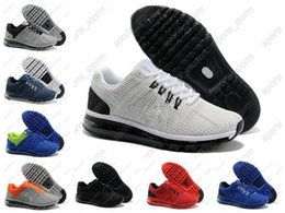 Discount Shoes Run Air Max 2016 New 8 colors China Air MAX Arrival 100% Original air Men's Sports Running Shoes ,Breathable Sports shoes Men Size 40-46 Free Shipping