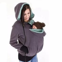 Brand New hiver maternité Hoodie Allaitement Vêtements 3 Grossesse 1 Babywearing Manteaux de maternité Multifonctionnel Kangaroo Vêtements