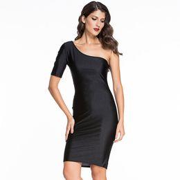 Short Casual One Shoulder Dresses Online   Short Casual One ...