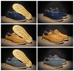 2016 Brand New Caterpiller Homens Sapatos Vestido Baixo Corte Sapatos Casuais, Suede Moda Gato Ao Ar Livre Mens Vestido Sapatos Eur 38-44
