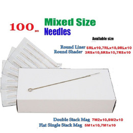Wholesale BaseKey Disposable Sterile Tattoo Needles Mixed RS RL M1 M2 x10