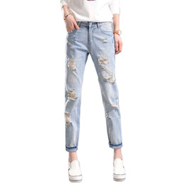 Discount Plus Size Womens Ripped Jeans | 2017 Plus Size Womens ...