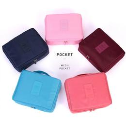 100pcs / lot Armazenamento Organizador mulheres saco viagens cosméticos bolsa de armazenamento à prova d'água BagsFor Travel