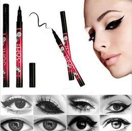Mais recente chegadas Preto Waterproof Pen Líquido Eyeliner Eye Liner Pencil Compo a beleza comestics (T173) frete grátis