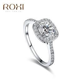 Diamante anillo de aleación de mano decorado con ocho corazones ocho zircones flecha anillo de diferentes colores 2016 venta al por mayor baratos