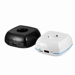 Chargeur Mini portable pour Apple Suivre grande capacité 3000mAh Power Bank chargent iWatch 7times de sortie USB double